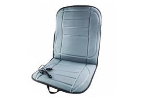 Чехол-накидка на сиденье авто с подогревом от прикуривателя Wellamart Серый SKL11-226277