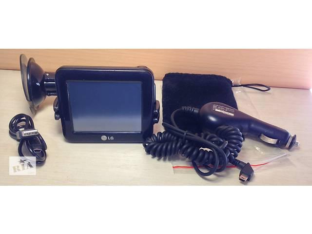 купить бу GPS-навигатор LG N10 N10EB06 авто автомобильный держатель в Киеве