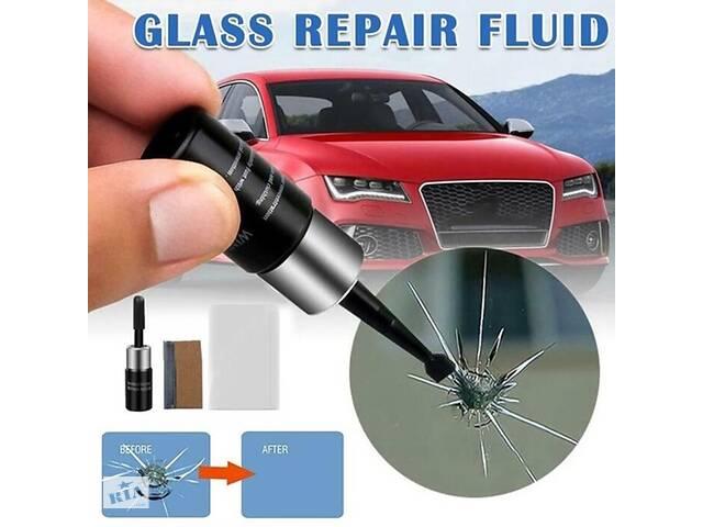 бу Клей полимер для ремонта лобового стекла автомобиля от сколов трещин в Харькове