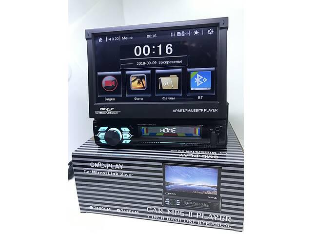 """магнитола с выдвижным экраном 7"""" Bluetooth 7030 USB Камера заднего вида- объявление о продаже  в Киеве"""