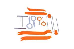 Набір інструментів знімачів для зняття обшивки салону автомобіля 12шт