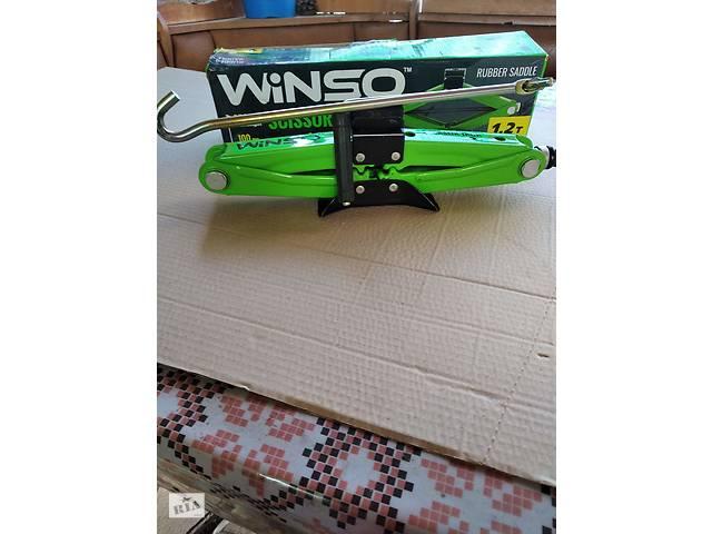 бу Продам домкрат ромбовидный WINSO 121200 с резиновой подушкой1.2 Т в Горловке
