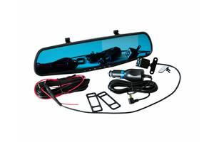Современное зеркало-видеорегистратор с камерой заднего вида в авто/угол обзора 170 гр/автомобильный регистратор