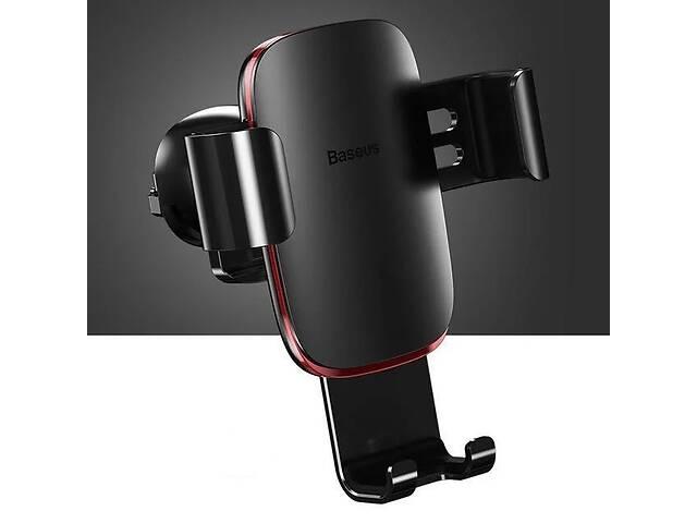 купить бу Универсальный автомобильный держатель смартфона Baseus Metal Gravity Car Phone Holder Black в Запоріжжі