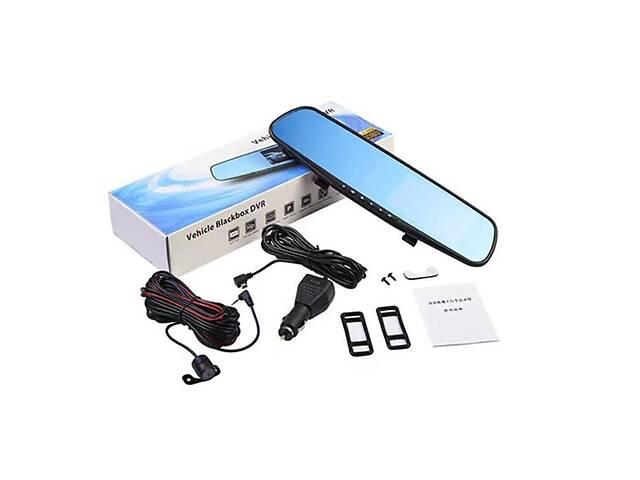 купить бу Зеркало видеорегистратор с камерой заднего вида  Vehicle Blackbox DVR Full HD в Харькове