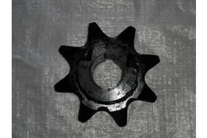 Звездочка шнековая ЭТЦ ЭЦУ на бару 8 шлицов шнекового узла траншеекопателя