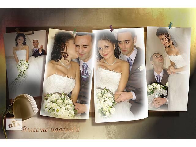 бу Видео-фотосъёмка на свадьбу, выпускной  в Украине