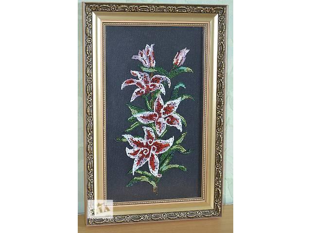 """Вышитая картина бисером,, Аленький цветочек""""- объявление о продаже  в Днепре (Днепропетровск)"""