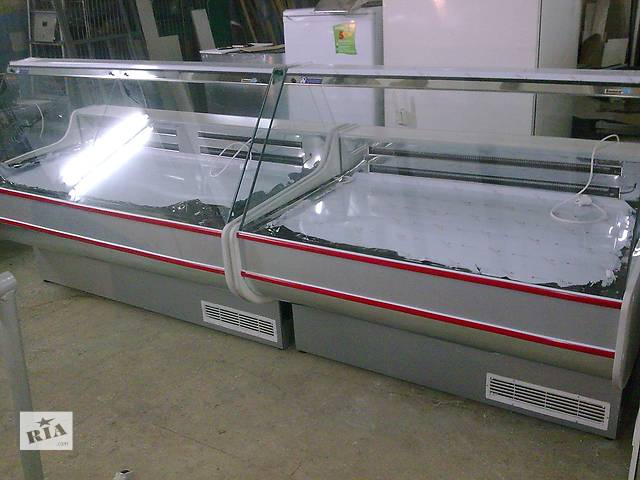 купить бу Вітрина з товарним запасом 1.2/1.1 м новий в Чернігові