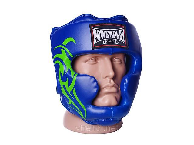 продам Боксерський шолом тренувальний 3043 Синій XL R144058 бу в Киеве