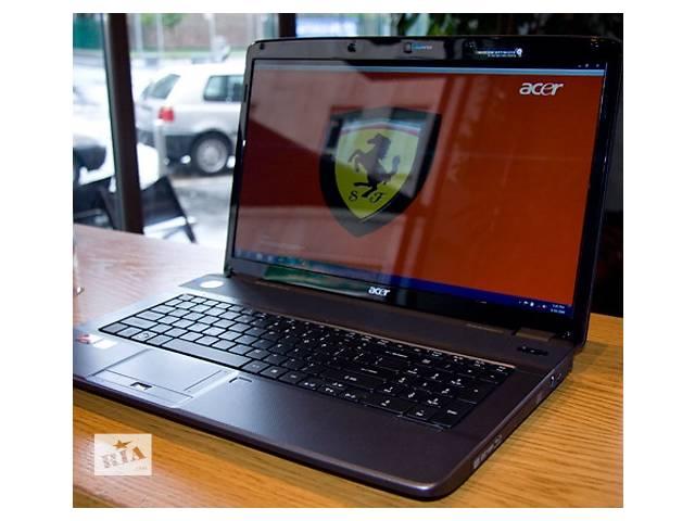 купить бу Игровой  ноутбук Acer Aspire 7540 с экраном 17,3 в Киеве
