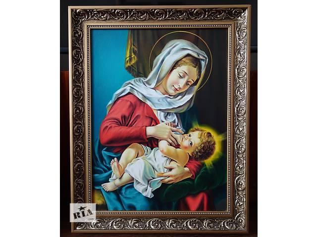 бу Икона маслом Мария Кормилица 50*35 Ручная работа в Львове