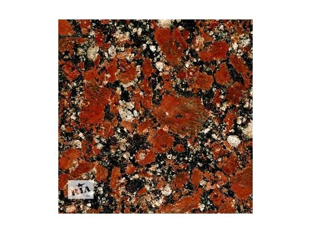 Изделия из гранита GR1 Rosso Santiago Капустинского месторождения.- объявление о продаже   в Украине