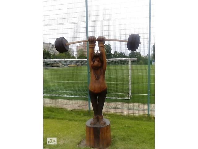 бу На заказ садово-парковая скульптура и садовые фигуры, скульптура на корню, резьба бензопилой,  ручная резьба по дереву.  в Украине