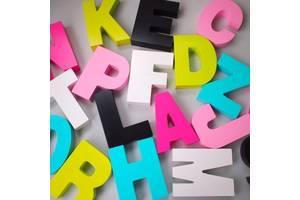 Реклама объемными буквами