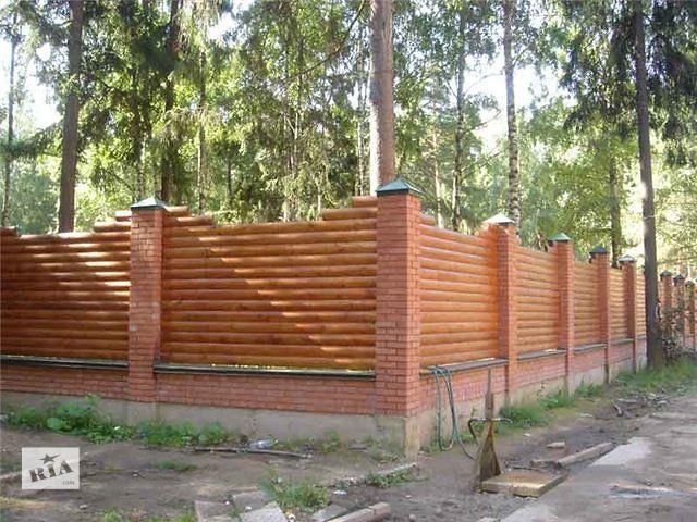 продам Изготовление и установка деревянных заборов, ворот  бу в Харькове