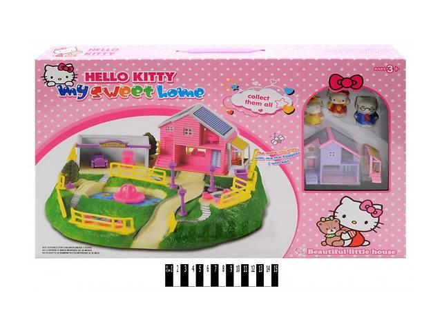 купить бу Замок SS012A Hello Kitty домик, 3 фигурки в Ровно