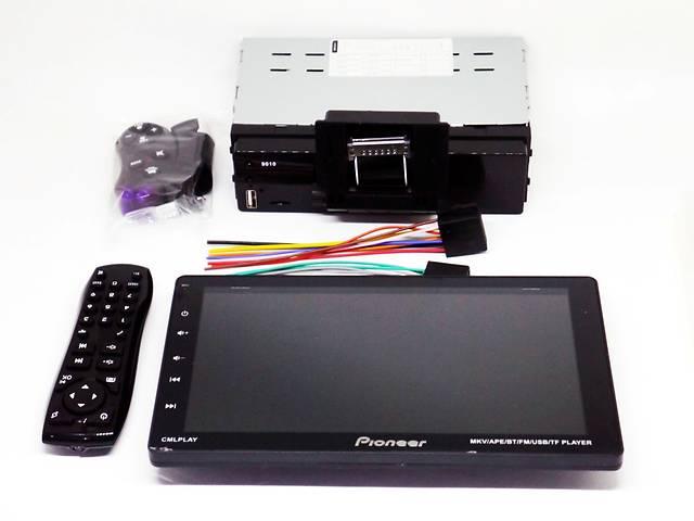 """продам 1din Магнитола Pioneer 9010 - 9"""" Съемный экран, USB, Bluetooth - пульт на руль бу в Днепре (Днепропетровск)"""
