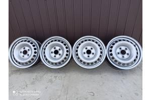 7H0 601 027 C Диски металеві для фольксваген т5 Volkswagen t5,t6 Б/у диски для Volkswagen T5 (Transporter)