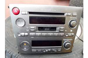 Аудиосистема, блок управления печкой для Subaru Outback (03-08)  86201ag310