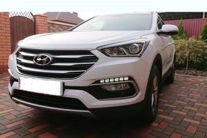 Б/у бампер передний для Hyundai Santa FE 2017