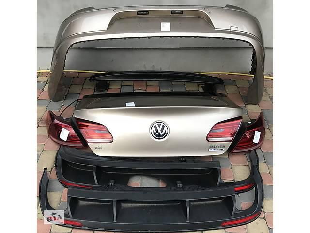 бу Б/у бампер задний для Volkswagen Passat CC бампер задний бампера кришка багажника ляда Фонарь Внаявн в Львове