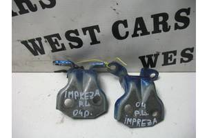 Б/У Петли передней левой двери Impreza 2002 - 2007 . Вперед за покупками!