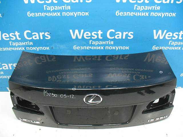 продам Б/У 2005 - 2012 IS Кришка багажника чорна. Вперед за покупками! бу в Луцьку
