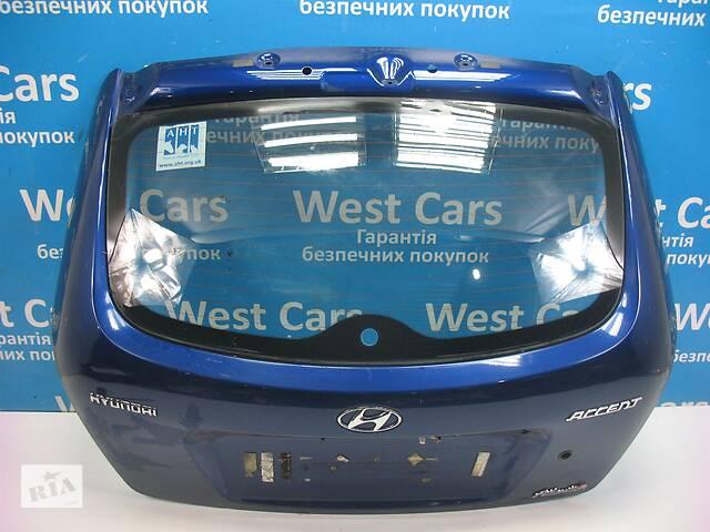 бу Б/У 2006 - 2010 Accent Кришка багажника синя хетчбек. Вперед за покупками! в Луцьку