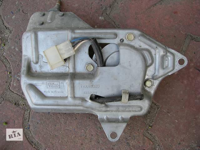 Б/у моторчик склоочисника кришки багажника Renault 21 універсал, 7700766527, VALEO 53201311 [2749]- объявление о продаже  в Броварах