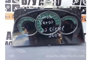 б/у Панели приборов/спидометры/тахографы/топографы Toyota Corolla Verso