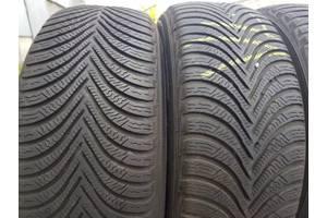 Б/у шины Michelin Alpin A5 205/55/16-пара 2017г.в. резина зима шины зимние зимние покрышки