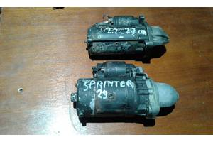 б/у Стартеры/бендиксы/щетки Mercedes Sprinter