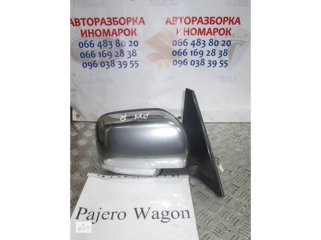 купить бу Б/у зеркало боковое правое для Mitsubishi Pajero Wagon 2006-2012 в Киеве