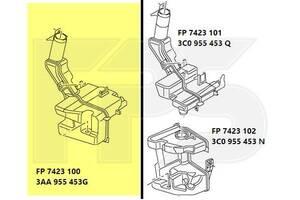 Бачок омывателя VW Passat B7 Европа '10-14 (галоген) (FPS)