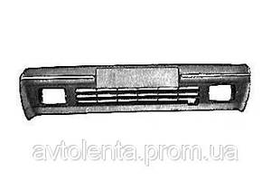 Бампер передний, черный, с отв {-04.92} для Renault R 19 11.88-11.95
