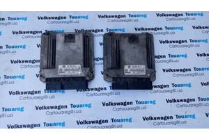 Блок управління двигуном (ЕБУ), CAS Volkswagen Touareg Фольксваген Туарег 2003-2009
