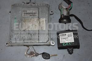 Блок управления двигателем комплект Iveco Daily 2.3hpi, 2.8jtd (E