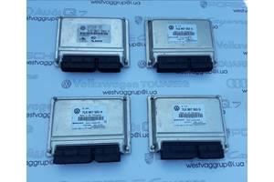 Блок управления системы регулирования дорожнего просвета пневмо 7L0907553H/7L0907553J для Volkswagen Touareg 2003-2010