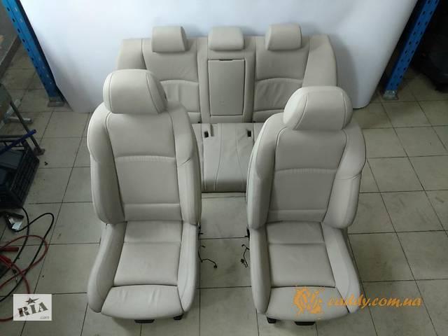 бу BMW5 F10 - кожаный салон в Киеве