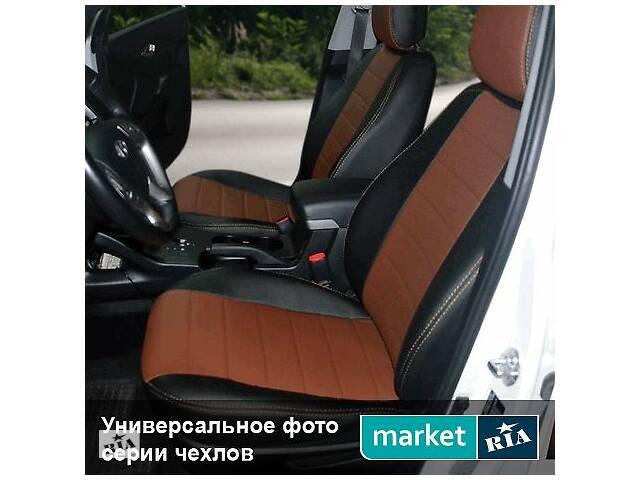 купить бу Чехлы на сиденья ВАЗ 2109 из Экокожи 1986-2004 (AVTOMANIA) в Виннице