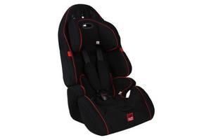 Детское автокресло универсальное от 9 месяцев до 12 лет - черное (CARFACE) CFG01BL