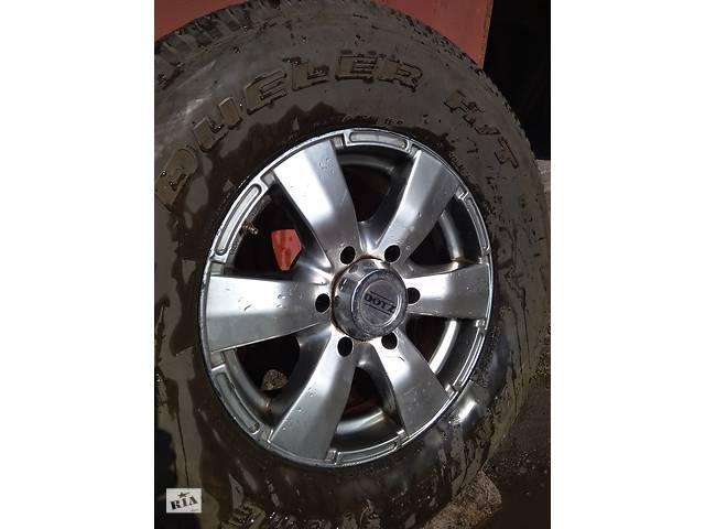 продам Диск R16 DOTZ разболтовка 6 отв. для Mitsubishi Pajero, Mitsubishi Pajero Wagon, Mitsubishi Pajero Sport, Nissan Patrol бу в Дніпрі (Дніпропетровськ)