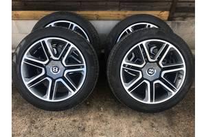 Новые диски с шинами Bentley
