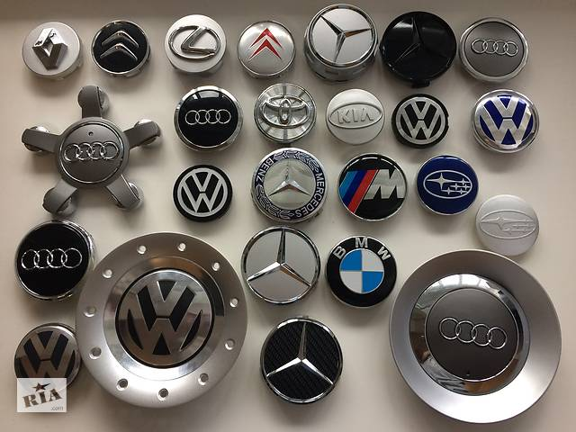 Колпачки заглушки VW,BMW,Mercedes,AUDI,Subaru для литых дисков/в диск- объявление о продаже  в Виннице