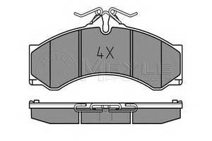 Гальмівні колодки комплекти Mercedes Sprinter