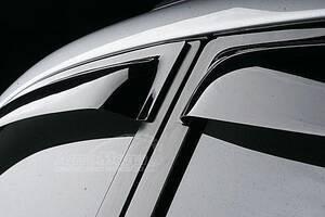 Mercedes E-klass W211 Ветровики SD (4 шт, SIM)
