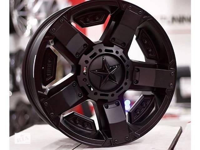 продам Новые диски KMC XD SERIES XD811 ROCKSTAR 2, на Toyota Tundra, Prado, Chevrolet, Jeep, Ford, Hummer, GMC Canyon, Nissan бу в Харькове