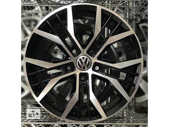 бу Новые оригинальные литые диски Volkswagen R16 5-112  CADDY в Харкові