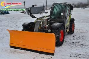 Отвал снегоуборочный к погрузчикам всех производителей Claas, Case, Manitou, Merlo, Bobcat и др.